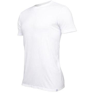 Tufte U-neck White, bílá vel. M - Tričko