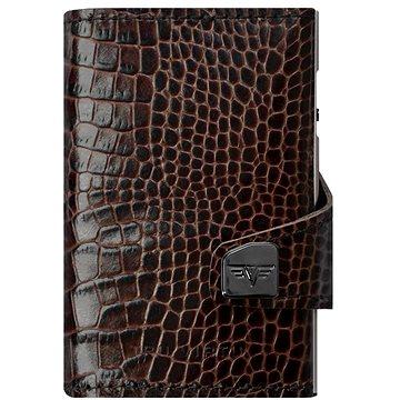 Tru Virtu Click & Slide - kožená Croco Brown - Peněženka