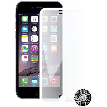 Screenshield APPLE iPhone 6 WHITE metalic frame - Ochranné sklo