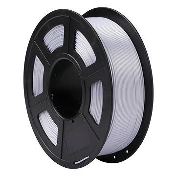 Sunlu 1.75mm silk PLA 1kg stříbrná - Filament