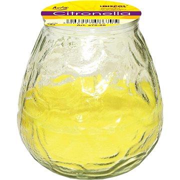 BISPOL Citronella zahradní svíčka 200 g - Svíčka