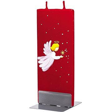 FLATYZ Baby Angel On Red 80 g - Svíčka