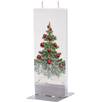 FLATYZ Christmas Tree with Snow 80 g - Svíčka