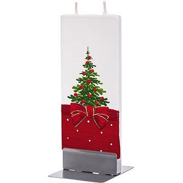 FLATYZ Christmas Tree With A Bow 80 g - Svíčka