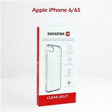 Swissten Clear Jelly pro Apple iPhone 6/6S - Kryt na mobil