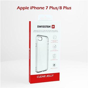Swissten Clear Jelly pro Apple iPhone 7 plus/8 plus - Kryt na mobil