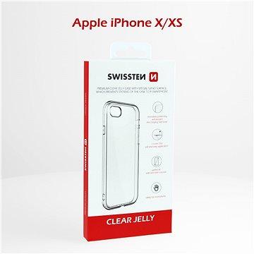Swissten Clear Jelly pro Apple iPhone X/XS - Kryt na mobil