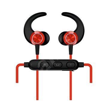Swissten Active červená - Bezdrátová sluchátka