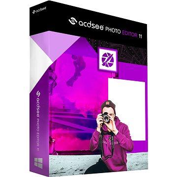 ACDSee Photo Editor 11 (elektronická licence) - Grafický software