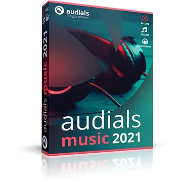 Audials Music 2021 (elektronická licence) - Audio software