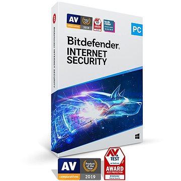 Bitdefender Internet Security pro 1 zařízení na 1 rok (elektronická licence) - Internet Security