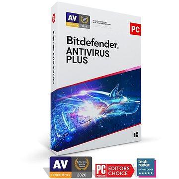 Bitdefender Antivirus Plus pro 10 zařízení na 1 měsíc (elektronická licence) - Antivirus