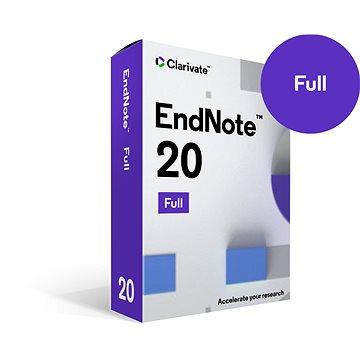EndNote 20 Win/Mac (elektronická licence) - Kancelářský software
