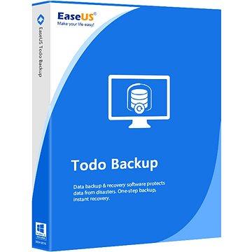 EaseUs Todo Backup Workstation (elektronická licence) - Zálohovací software