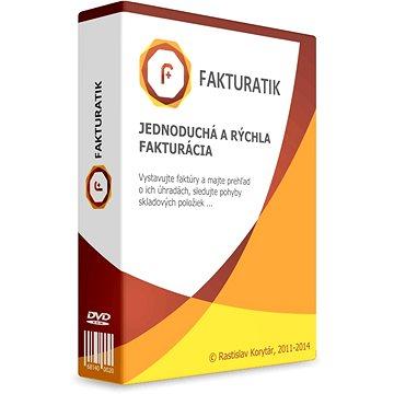 Fakturatik verze Gold (elektronická licence) - Kancelářský software