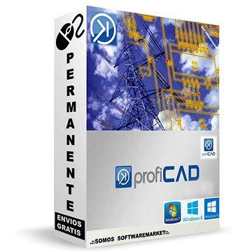ProfiCAD pro 1 PC (elektronická licence) - Grafický software