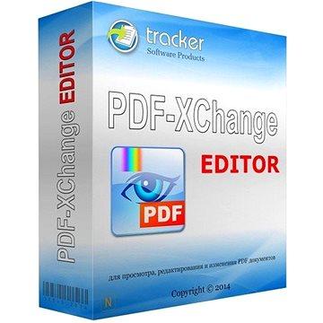 PDF-XChange Editor pro 3 uživatele (elektronická licence) - Kancelářský software