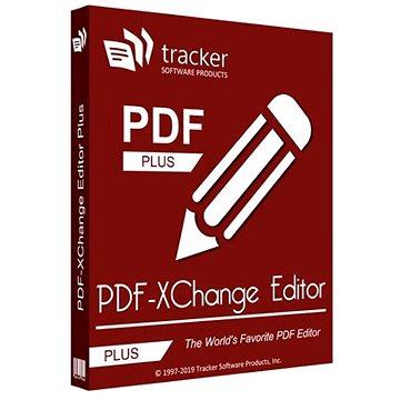 PDF-XChange Editor Plus pro 1 uživatele (elektronická licence) - Kancelářský software