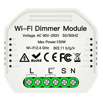 MOES Hidden wifi smart Dimmer switch - WiFi spínač