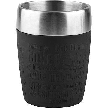 Tefal Cestovní hrnek 0.2l TRAVEL CUP nerez/černá K3081314 - Termohrnek