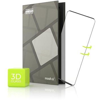 Tempered Glass Protector pro Huawei P40 Pro - 3D GLASS, Černé - Ochranné sklo