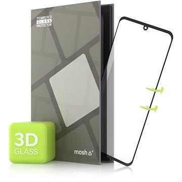 Tempered Glass Protector pro LG Velvet 3D GLASS, Černé - Ochranné sklo