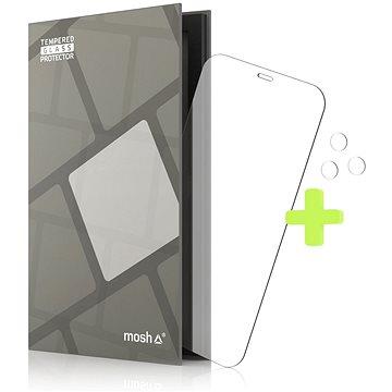 Tempered Glass Protector 0.3mm pro iPhone 12 / 12 Pro + sklo na kameru (Case Friendly) - Ochranné sklo