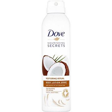 DOVE Coconut Oil & Almond Milk Body Lotion Spray 190 ml - Tělové mléko
