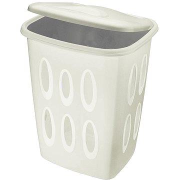 Tontarelli Koš na prádlo(bez otvorů) 45L krémová - Koš na prádlo