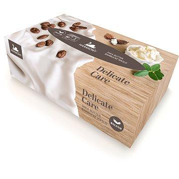 HARMONY Delicate Care Shea Butter Balsam (80 ks) - Papírové kapesníky
