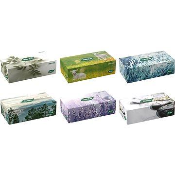 TENTO Family box 120 ks, mix barev - Papírové kapesníky