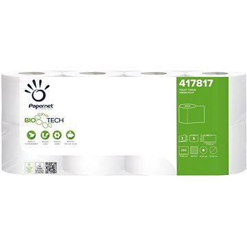 Papernet Biotech toaletní papír 3vr. celulóza 411221 8 ks - Eko toaletní papír
