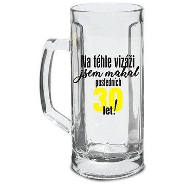SKLENICE NA PIVO - POSLEDNÍCH 30 LET!, 500 ML - Sklenice na pivo