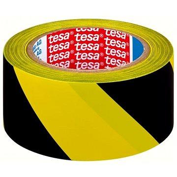 TESA vyznačovací 33m x 50mm žluto/černá - Lepicí páska