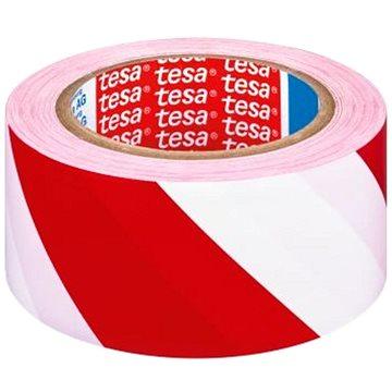 TESA vyznačovací 33m x 50mm červeno/bílá - Lepicí páska