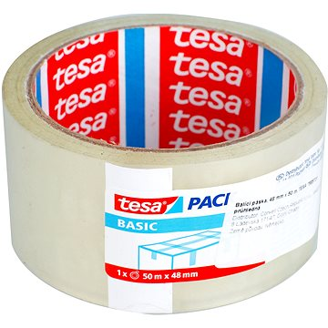 TESA transparentní 48mm x 50m 3 + 1 ZDARMA - Lepicí páska