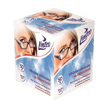 LINTEO Vlhčené ubrousky na brýle (50 ks) - Čisticí ubrousky