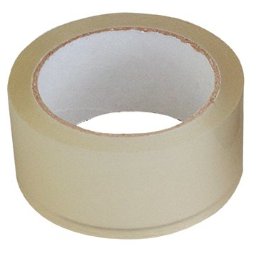 SPOKAR Lepící páska balicí 48 mm x 66 m - průhledná - Lepicí páska