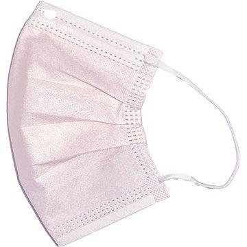 RespiLAB Dětské jednorázové  roušky - Růžové  (10ks) - Ústenka