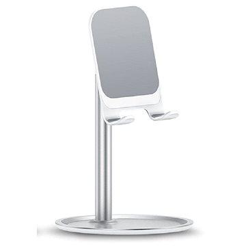 USAMS US-ZJ048 Mobile Phone Desktop Holder silver - Držák na mobilní telefon