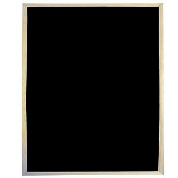 VICTORIA nemagnetická 30x40cm černá - Tabule