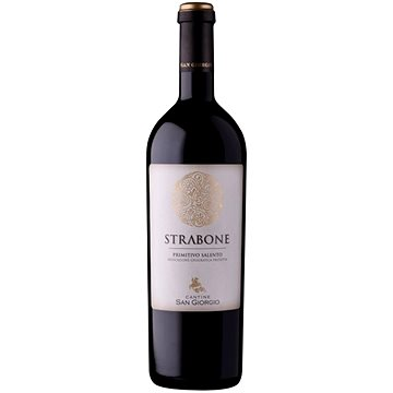 TINAZZI Primitivo Strabone Salento 2018 0,75l - Víno