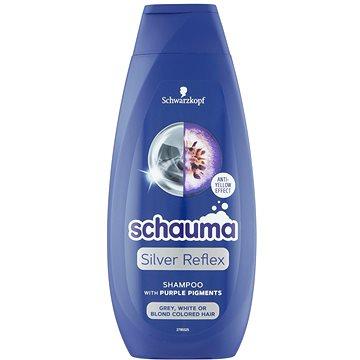 SCHWARZKOPF SCHAUMA Silver Reflex Cool Blonde Shampoo 400 ml - Silver šampon