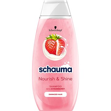 SCHWARZKOPF SCHAUMA Nature Moments Strawberry 400 ml - Šampon