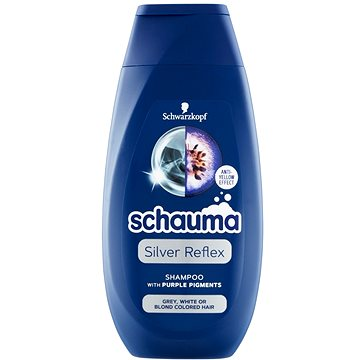 SCHWARZKOPF SCHAUMA Silver Reflex Shampoo 250 ml - Silver šampon