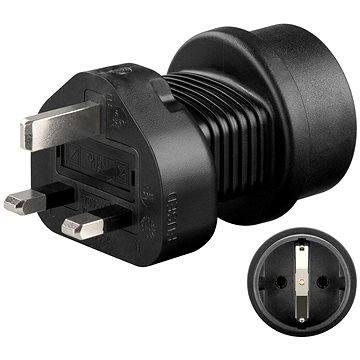 OEM UK/ CZ černý - Cestovní adaptér