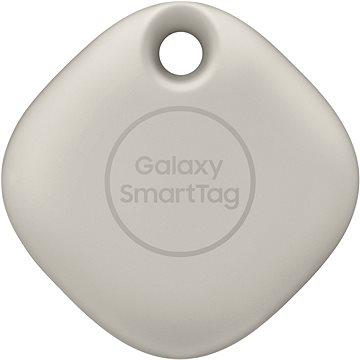 Samsung Chytrý přívěsek Galaxy SmartTag oatmeal - Bluetooth lokalizační čip