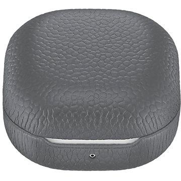 Samsung Kožené pouzdro pro Galaxy Buds Live/Buds Pro šedé - Pouzdro na sluchátka