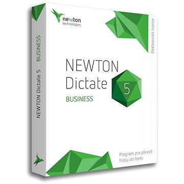 NEWTON Dictate 5 Business CZ (elektronická licence) - OCR software