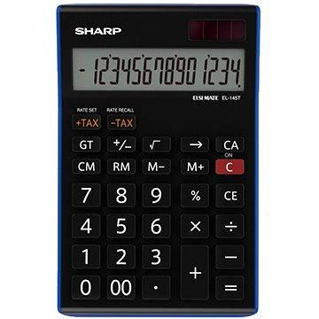 Sharp EL-145TBL černá - Kalkulačka